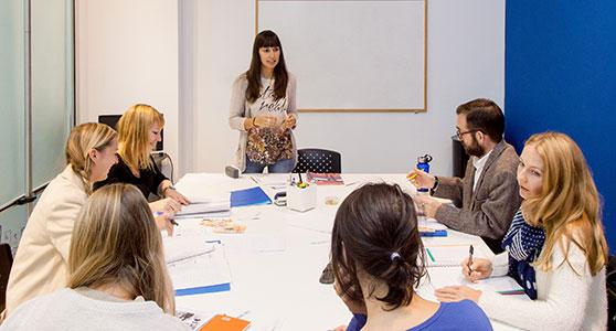 Unser blaues Klassenzimmer