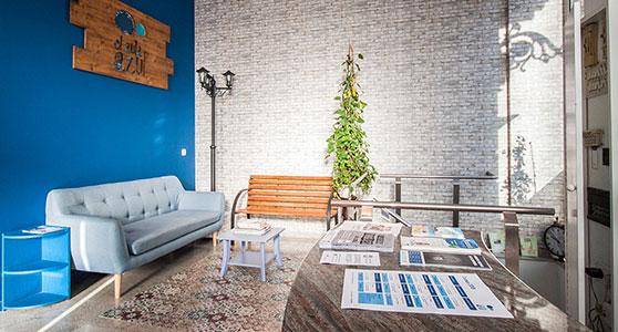 Salle de repos de El Aula Azul